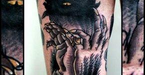 Tatuaje sombra maligna