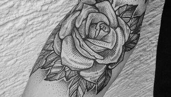 Tatuaje De Bufón En Blanco Y Negro Tatuajesxd