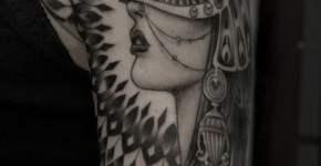 Tatuaje princesa oriental