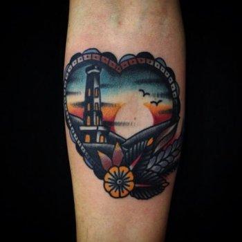 Tatuajde Puesta De Sol Tatuajesxd