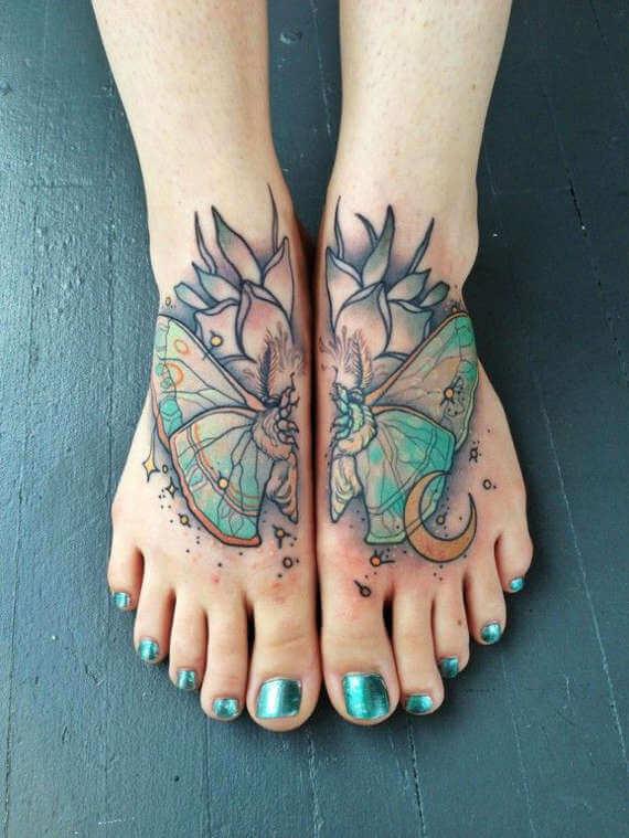 Tatuajes En El Pie Para Mujeres Tatuajesxd
