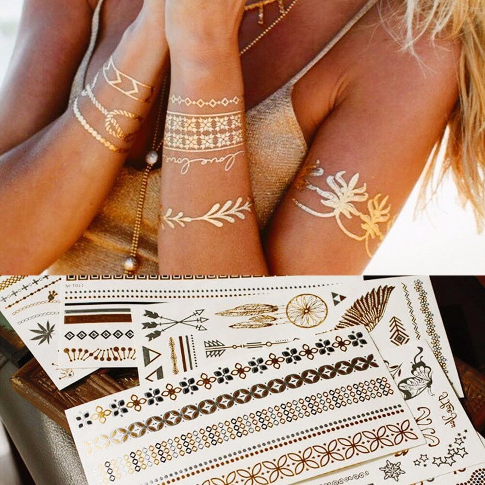 Existen Los Tatuajes Temporales Con Tinta Tatuajesxd