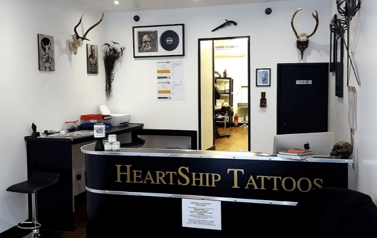 Heartship Tattoos