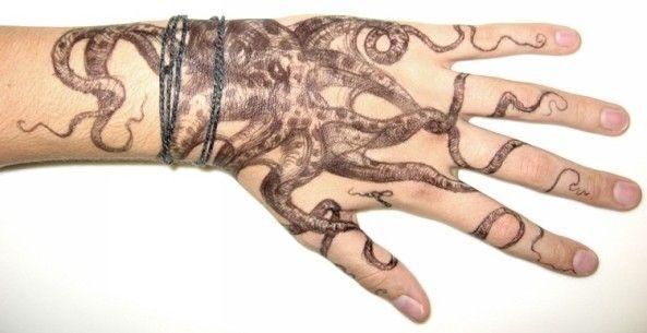 Tatuajes De Pulpos Diseño Y Significado Tatuajes Y Tattoos