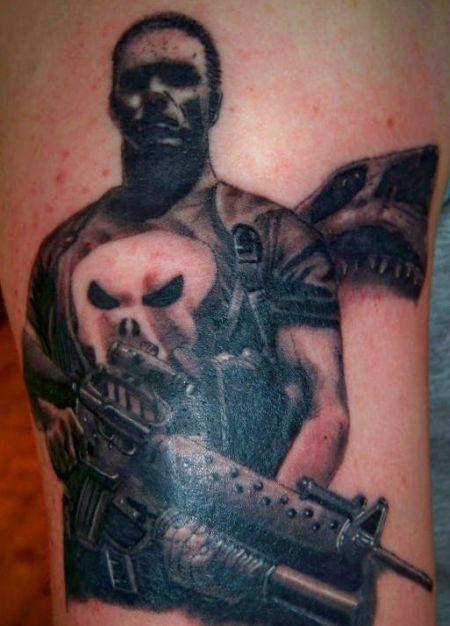 Tatuajes De Comics Superhéroes Y Villanos Tatuajes Y Tattoos