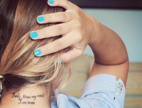 Frases Para Tatuajes De Mujeres Tatuajes Y Tattoos