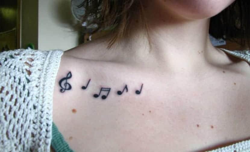 Tatuajes De Notas Musicales Y Su Singnificado