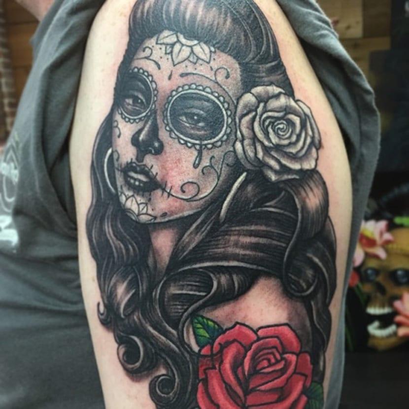 Tatuajes Catrinas Para Hombres Sollefe Tattoo