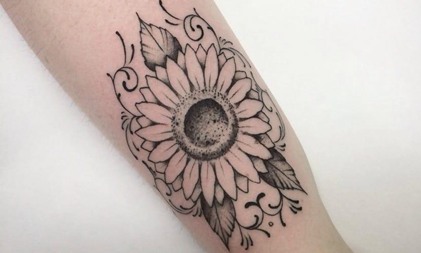 Tatuajes De Girasol Y Su Significado