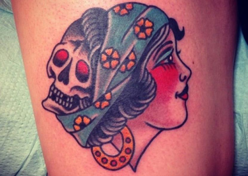 Tatuajes De Mujeres Gitanas O Gypsy Lady