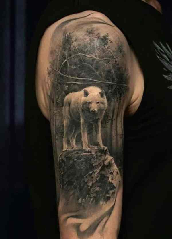 20 Tatuajes De Lobos En El Brazo Pictures And Ideas On Meta Networks
