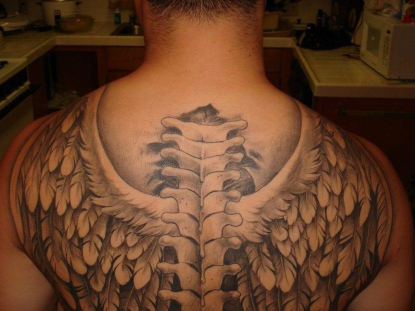 Tatuajes De Alas Hacia La Libertad