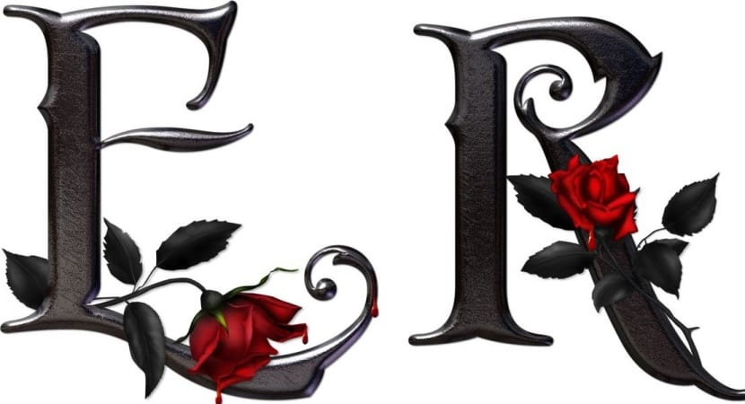 Letras Goticas Abecedario Lucida Blackletter Complete Alphabet