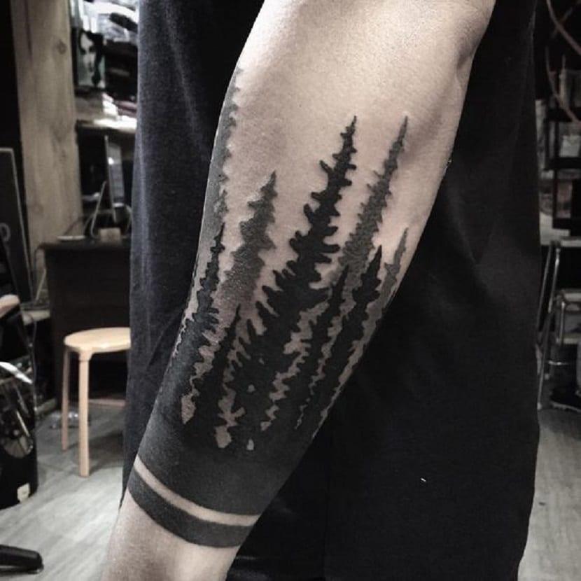 Tatuajes De Bosques Para Los Amantes De La Naturaleza