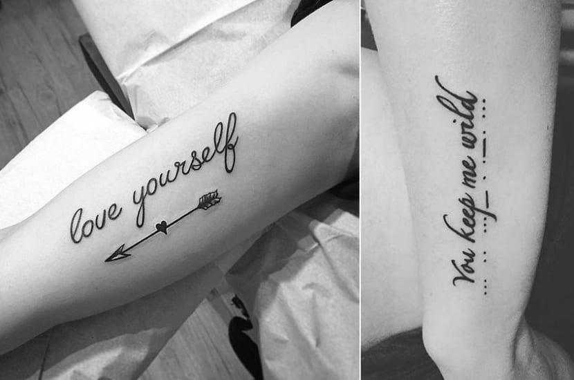 Frases Cortas En Inglés Los Tatuajes Más Deseados Para Mujeres