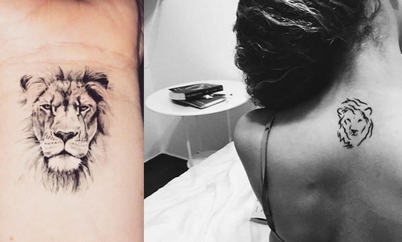 Tatuaje De Leon En El Dedo Tatuajes Pequeños