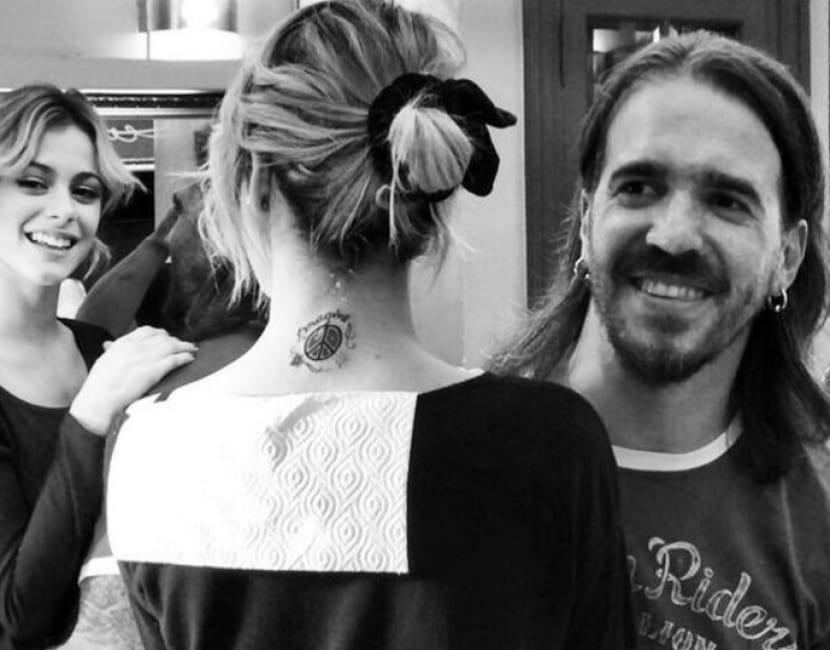 Tatuaje de Martina Stoessel  Cuntos tatuajes tiene Violetta