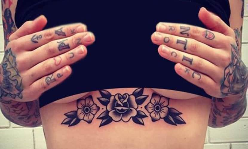 Tatuajes De Rosas En El Pecho Para Mujer Y Hombre