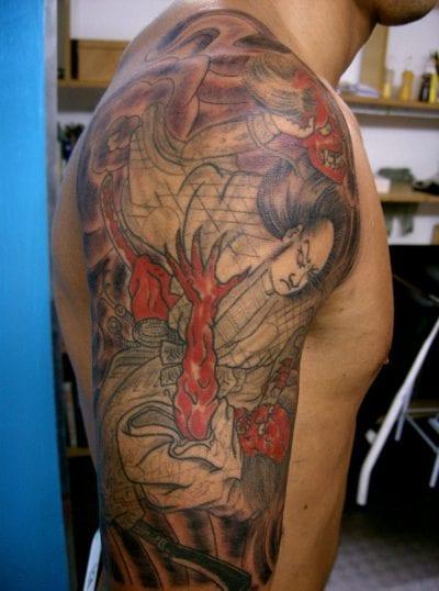 Estás Pensando En Hacerte Un Tatuaje De Samurái Lee Su Significado