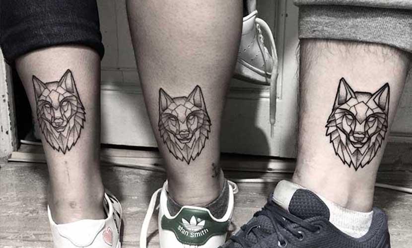 Tatuajes De Lobos En El Gemelo Recopilación De Diseños