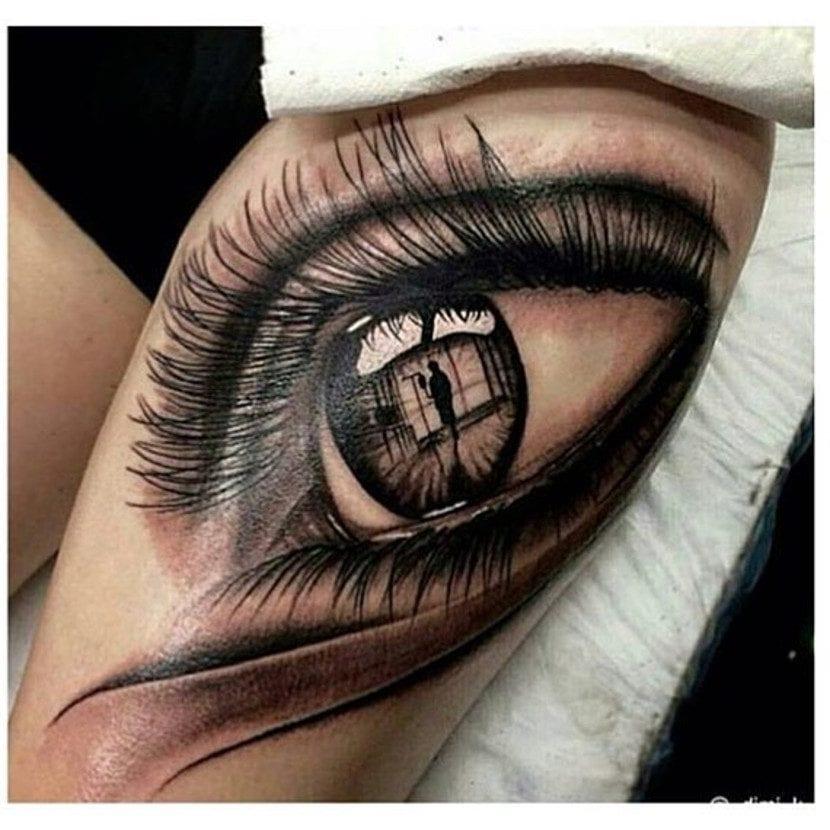 Mira Al Mundo Sin Pestañear Con Estos Tatuajes De Ojos Realistas