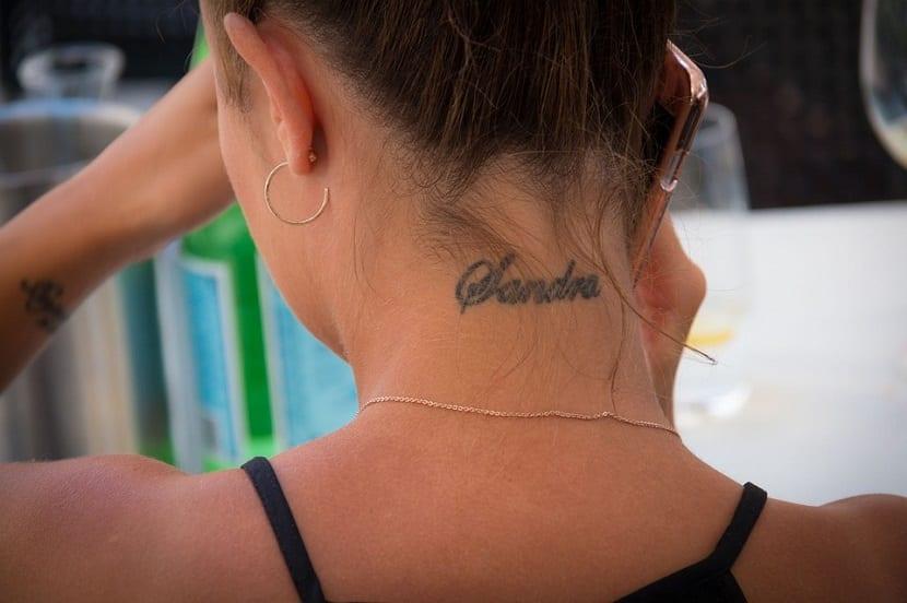 Tatuajes En El Cuello Duele Mucho Este Tipo De Tatuaje