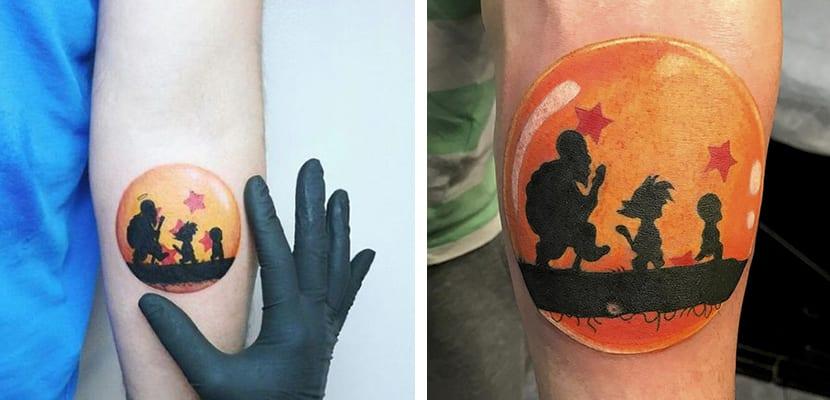 Descubre Interesantes Tatuajes Inspirados En El Mundo De Dragon Ball