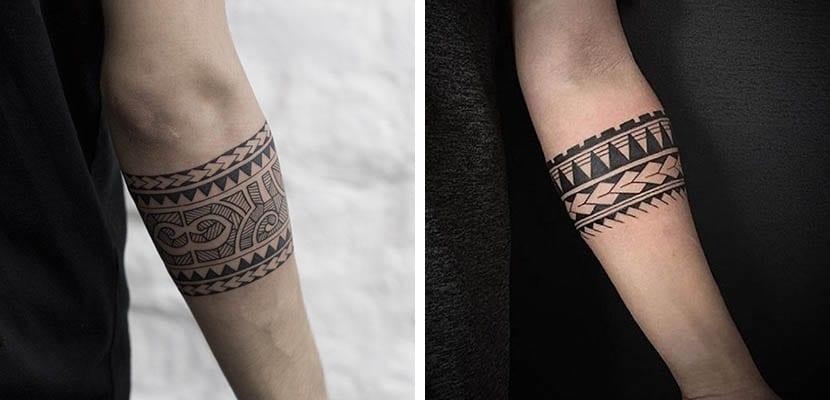 Ideas De Tatuajes En Forma De Brazalete