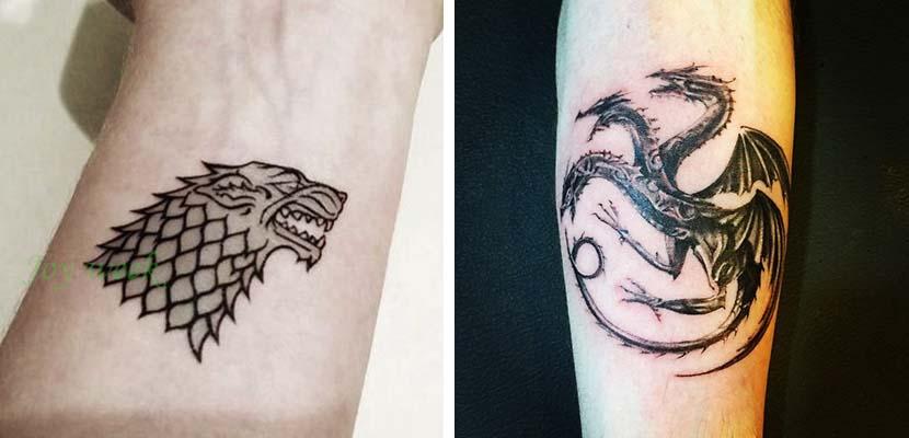 Tatuajes Que Se Inspiran En La Serie De Juego De Tronos