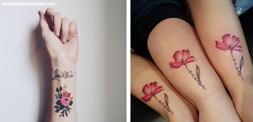 Tatuajes De Flores Para La Zona De La Muñeca