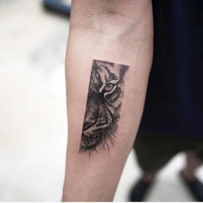 Tatuajes De Ojos De Animales Saca A Tu Bestia Interior