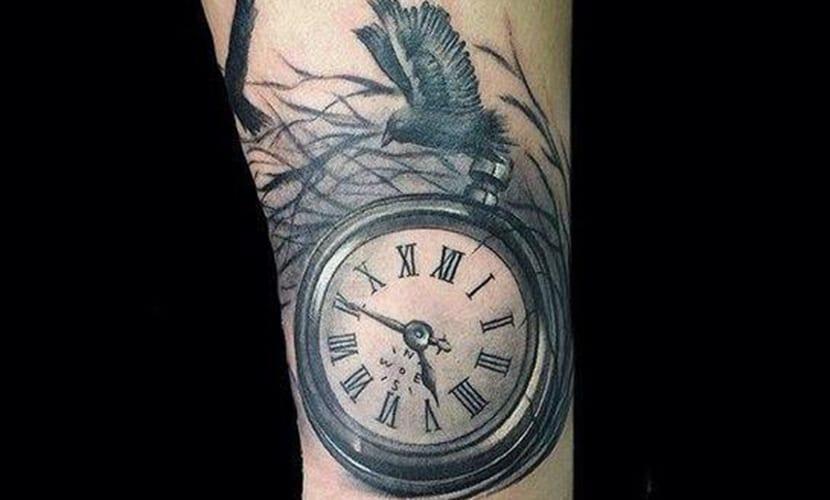 Tatuajes De Relojes De Bolsillo Recopilación Y Ejemplos