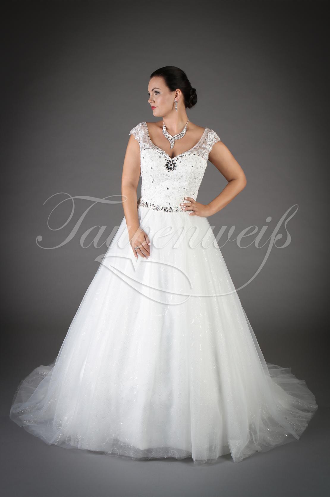 Brautkleid TW Ileana mit glitzernder Corsage und vollem