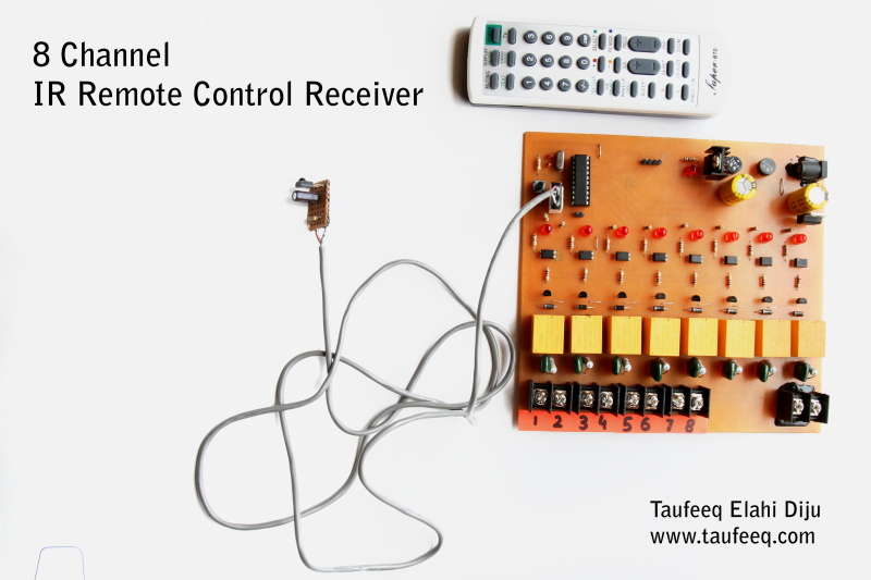 Simple Infrared Remote Control Extender Circuit Diagram
