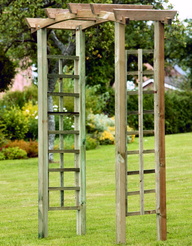 Garden Arches Metal Vs Wood House Garden Arches Cheap Garden