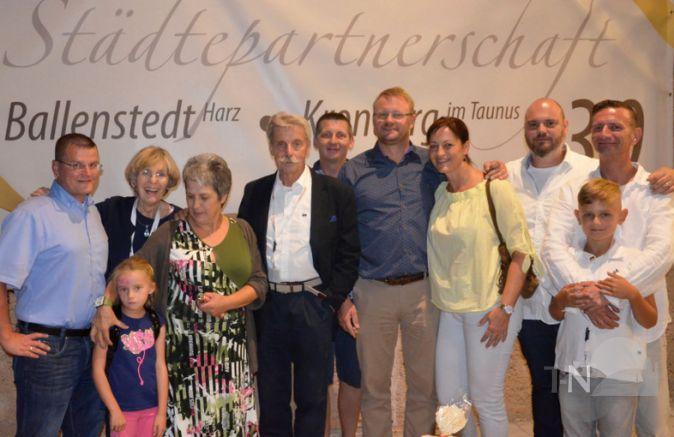 30 Jahre Stdtepartnerschaft KronbergBallenstedt  Groes