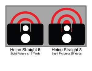 Hienie Straight 8 sight alignment