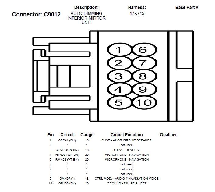 03 Ford Taurus Fuse Box Diagram
