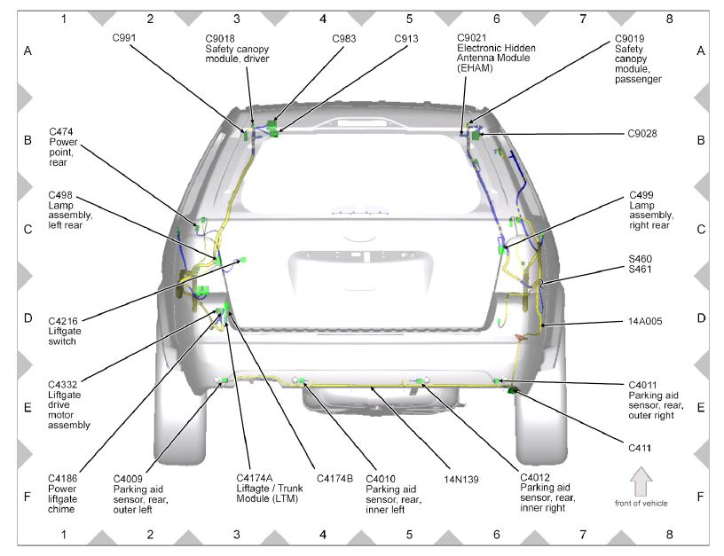 2012 Tacoma Backup Camera Wiring Diagram : 40 Wiring
