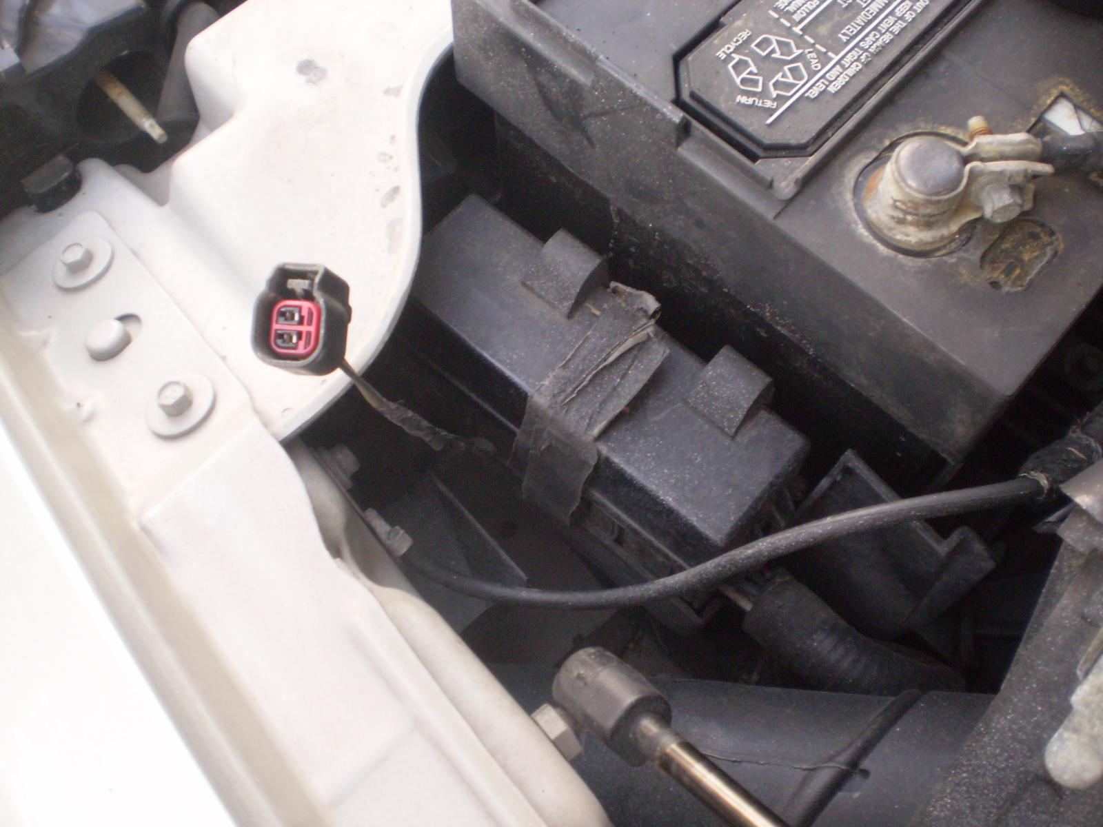 2008 Chevy Cobalt Wiring Diagram Is This The Plug For The Ambient Temp Sensor Taurus Car