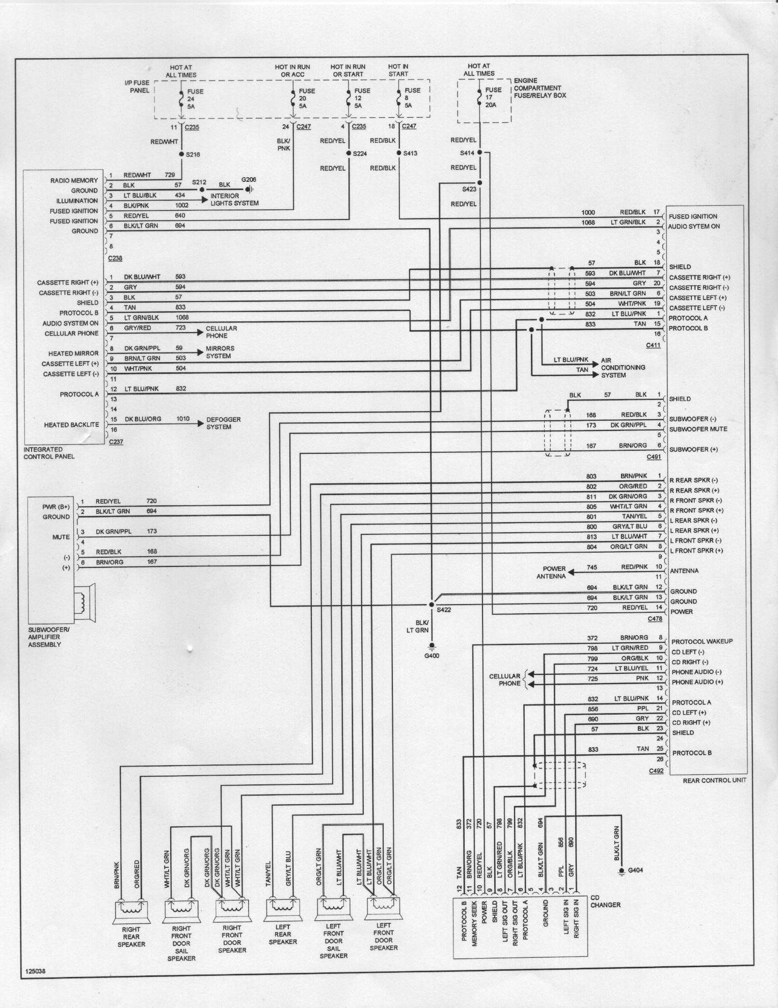 2000 mustang wiring diagram nema 14 30 scosche orange wire to _______ - taurus car club of america : ford forum