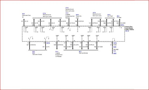 small resolution of ford tauru fuse box diagram 2001