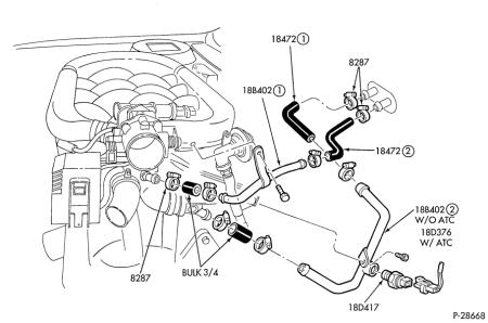 2002 Ford Expedition Heater Hose Diagram On F350 Heater