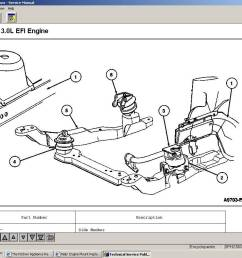 engine mount replacement taurus car club of 2001 ford taurus motor mount diagram  [ 1152 x 864 Pixel ]
