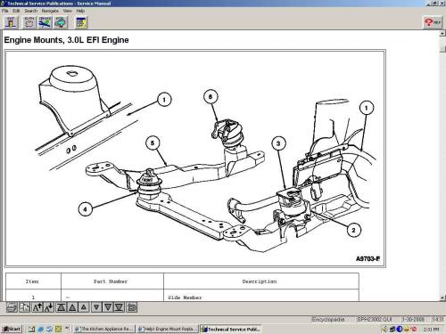 small resolution of engine mount replacement taurus car club of 2001 ford taurus motor mount diagram