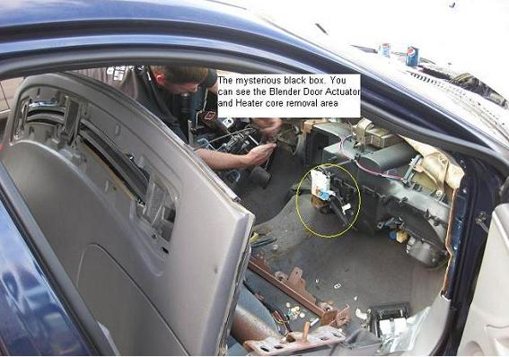 2001 mercury sable ac diagram wiring for single phase motor with capacitor start dash removal procedure - taurus car club of america : ford forum