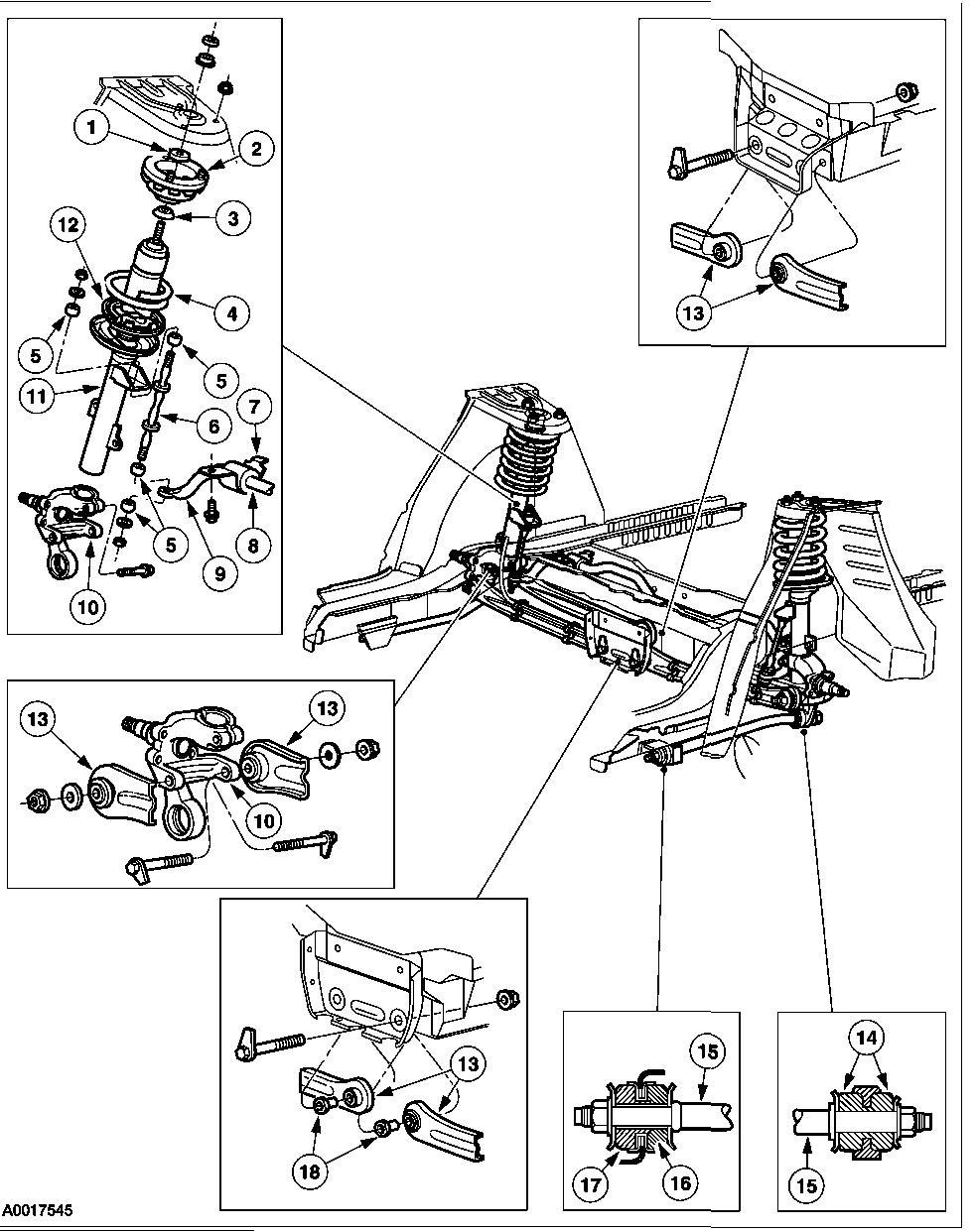 medium resolution of 2000 ford taurus rear suspension diagram wiring diagram third level 2000 ford taurus suspension diagram