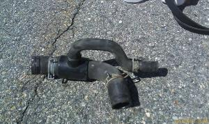 99 DOHC water pump inlet hose replacement  Taurus Car Club of America : Ford Taurus Forum