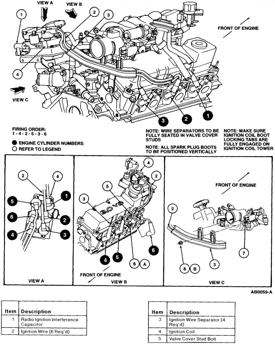 Ford Tauru V6 Vortec Engine Diagram FULL HD Quality