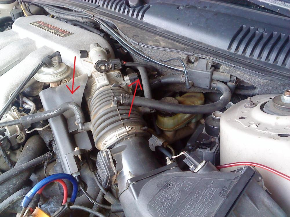 medium resolution of duratec 1996 vacuum leak won t idle taurus car club of america ford taurus forum